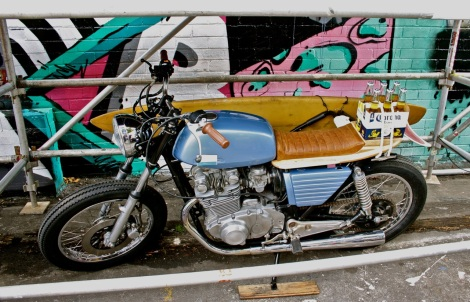 Drink riding - brought to you by the Australian custom motorcycle scene.