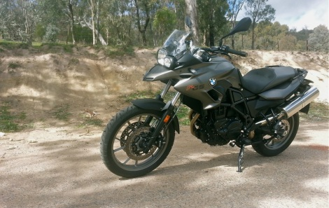 Slightly weak looking front suspension ruins the bike's rugged looks somewhat.