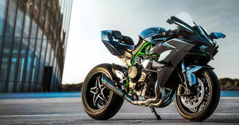 Kawasaki H2: It's out to get you...apparently.  Photo Credit: Kawasaki