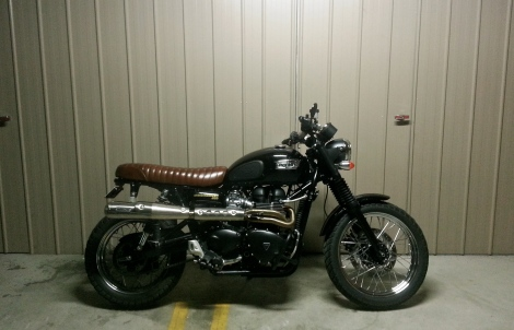 Triumph's Scrambler. For fulfilling all those Steve McQueen fantasies.