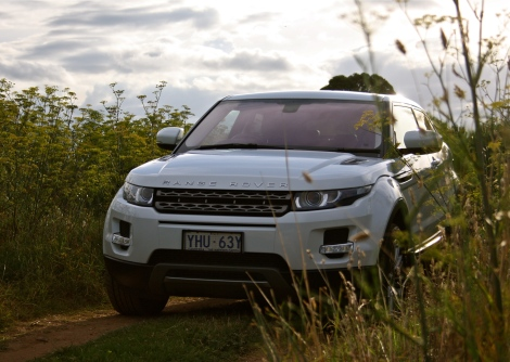 Interesting fact: the resale value of this Evoque dropped by 11% after it was driven on a dirt road.