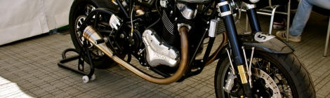 Norton, domiracer, cafe, racer, england
