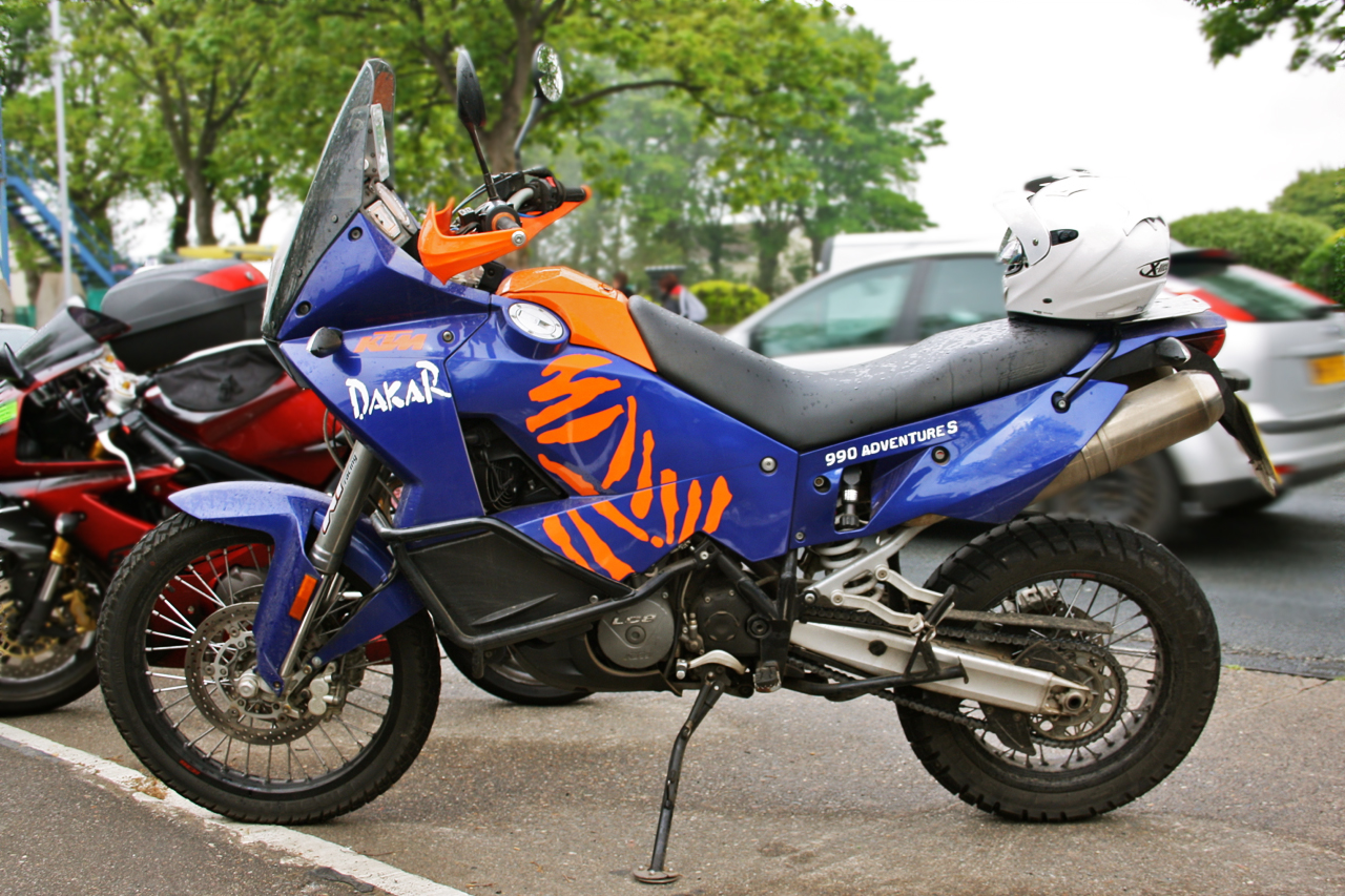 Ktm 950 990 adventure twistandlean for Deco 990 adventure
