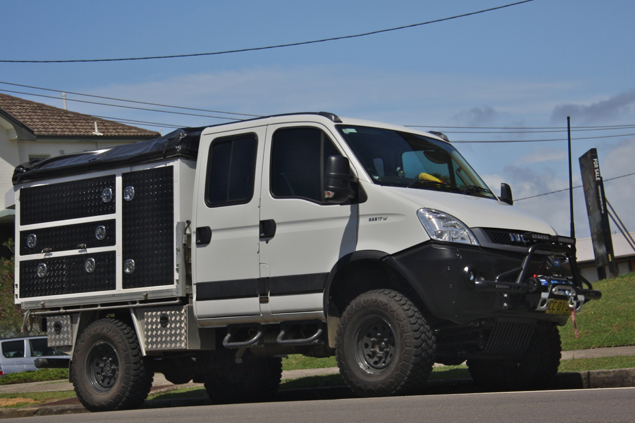 Truck Off Road 4x4 >> Iveco Daily 4×4 | twistandlean
