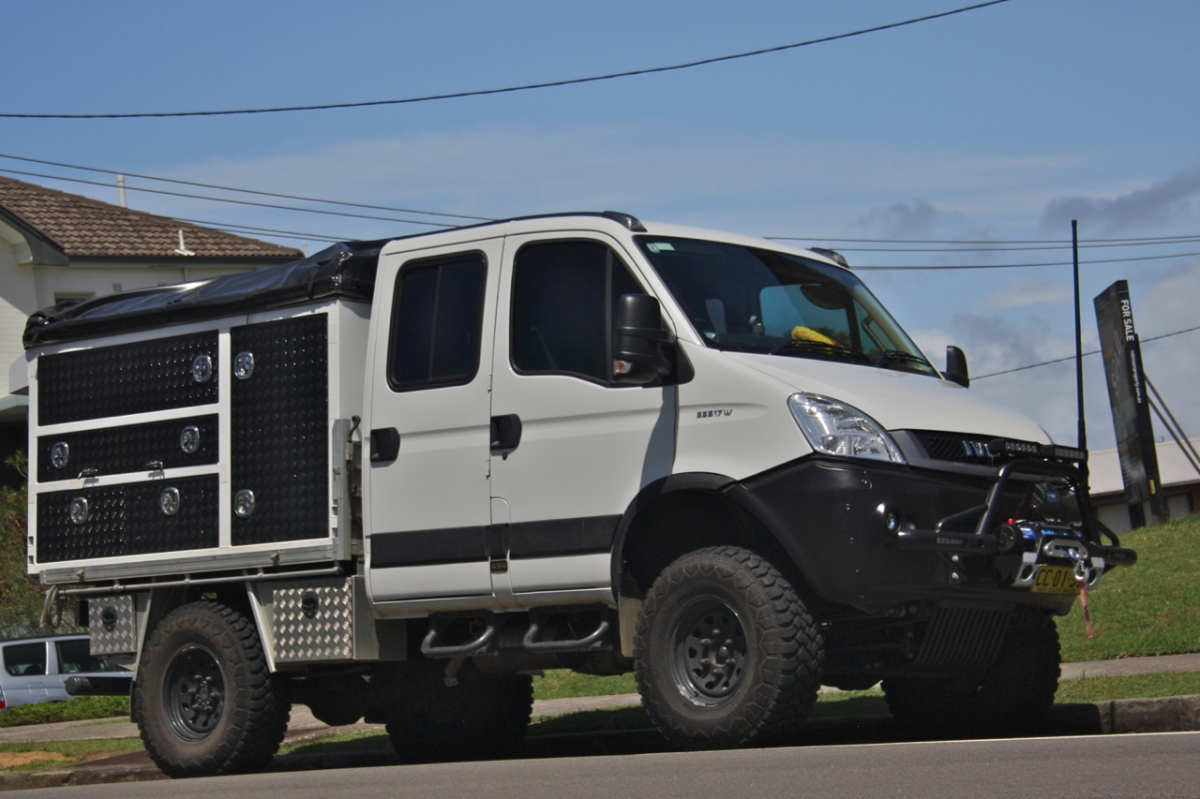 Iveco Daily 4×4 | twistandlean