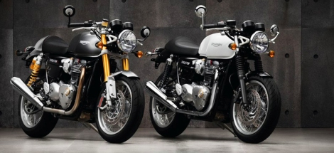 2016 Triumph Bonneville and Thruxton