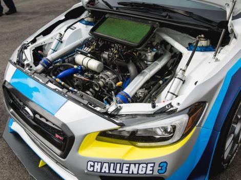 Mark Higgins TT, Subaru