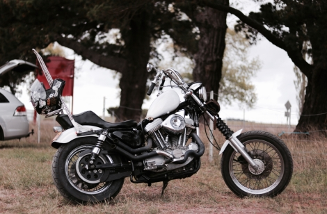 Chopper, Harley Davidson